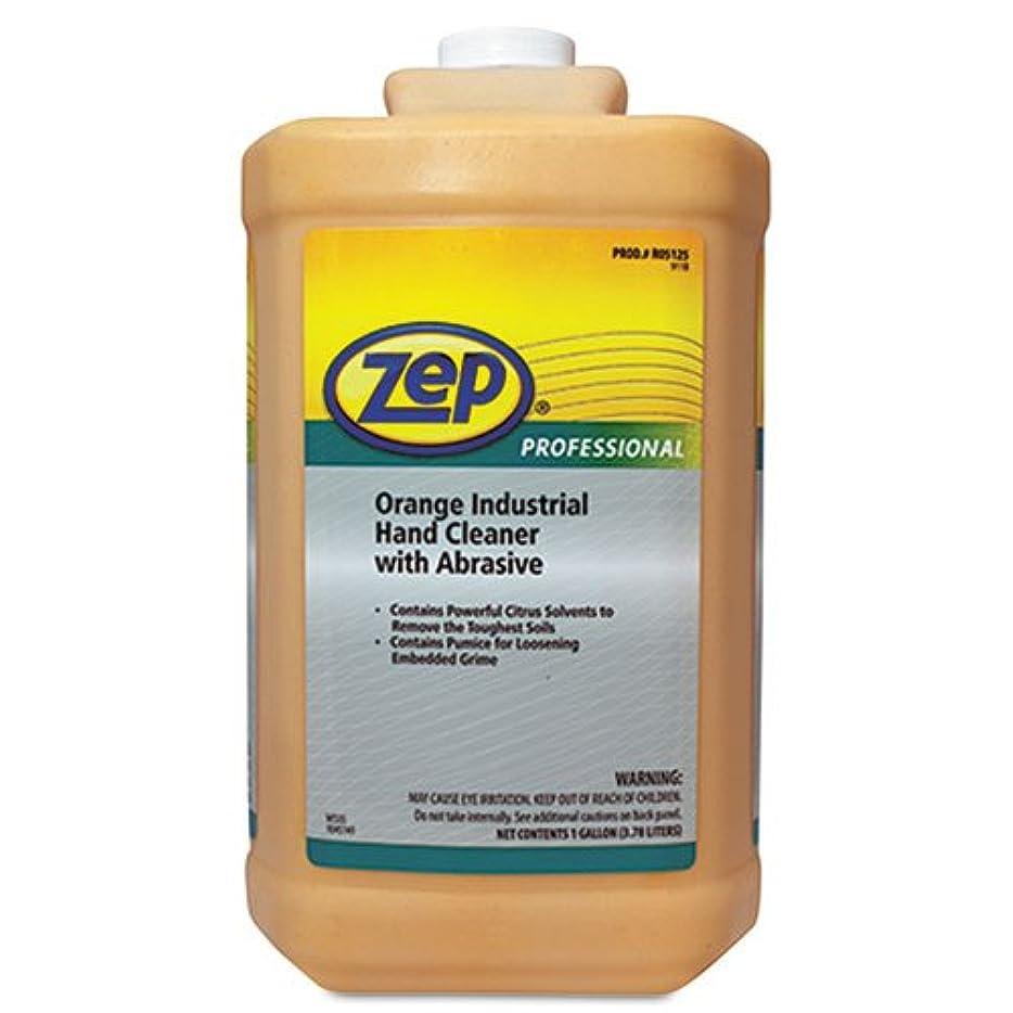 現象吸い込む北東Zepプロフェッショナル工業ハンドクリーナー、オレンジ、1ガロンボトル1045070