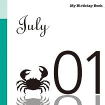 7月1日 My Birthday Book