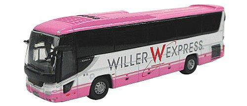 ポポンデッタ 1/150 いすゞガーラ WILLER EXPRESS