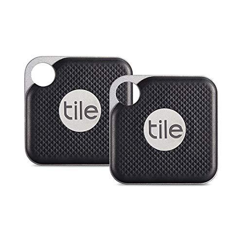 Tile Pro Black 2個(電池交換版) お得パック 探し物/スマホが見つかる 紛失防止 日...