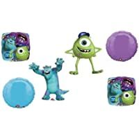 loonballoon Monsters University Mike Sully誕生日パーティー6バルーンブーケMylarキットセット