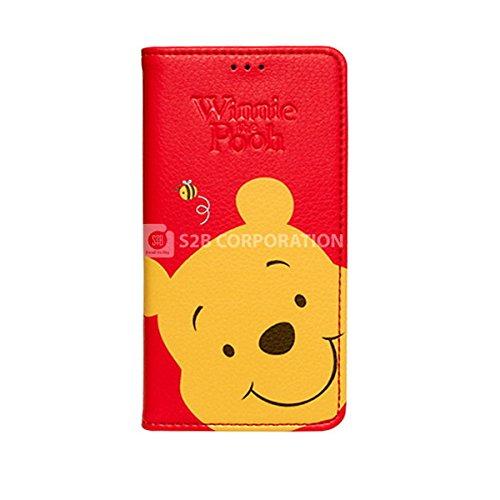 Galaxy S4 Disney Color Flip ディズニー カラー フリップ 手帳型 ケース カバー プー / Pooh ギャラクシー S4 (SC-04E)