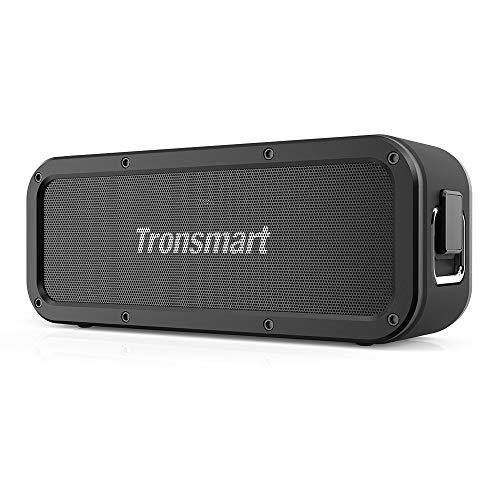 RoomClip商品情報 - Tronsmart Bluetooth5.0 スピーカー 防水 40W高出力 高音質 大音量 重低音 IPX7防水 / EQ搭載/NFC操作/TWS対応 / 15時間連続再生 / 内蔵マイク/ブルートゥース スピーカー ワイヤレス ポータブル アウトドア お風呂 iPhone & Android対応