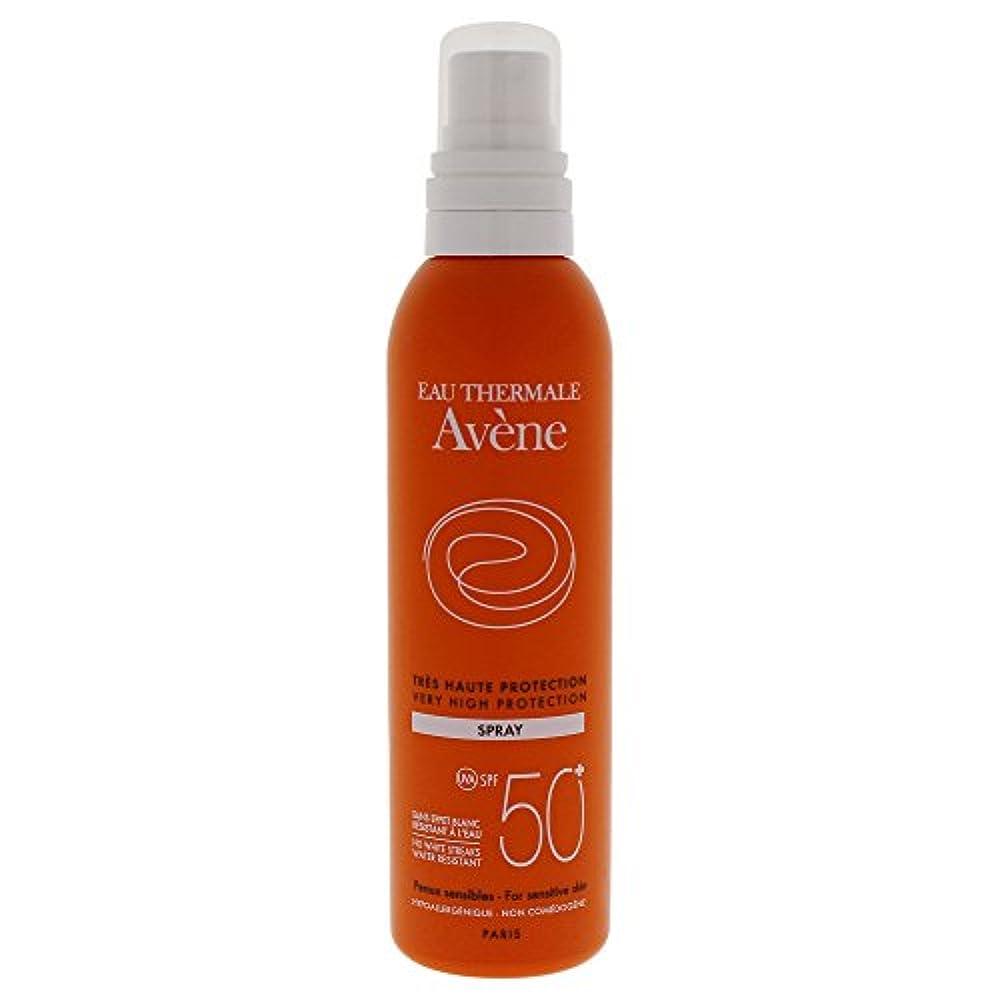 ロシアポータブルゴールドAvene Sunscreen Spray 50+ 200ml