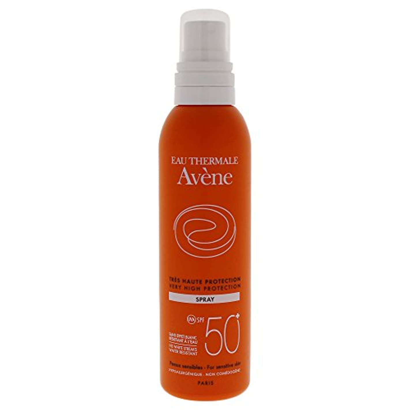 波カビ許容できるAvene Sunscreen Spray 50+ 200ml