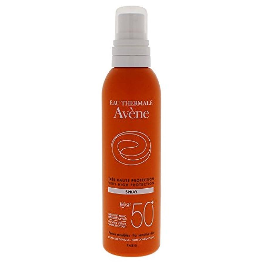 溶融鉄道駅破壊的なAvene Sunscreen Spray 50+ 200ml