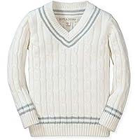Hope & Henry Boys' V-Neck Cricket Sweater