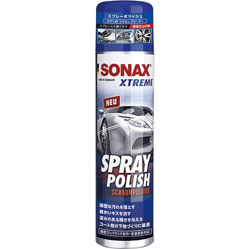 SONAX(ソナックス) エクストリーム スプレーポリッシュ 自動車用キズ消し・つや出し剤 320ml 241300