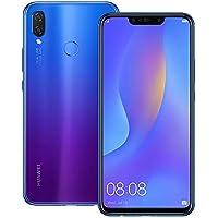 Huawei nova 3i (INE-LX2) 4GB / 128GB 6.3インチLTEデュアルSIM SIMフリー [並行輸入品] (アイリスパープル)