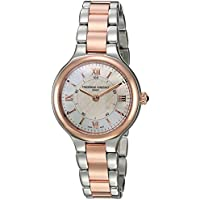 Frederique Constant Women's 'Horological Smart' Swiss Quartz Stainless Steel Casual Watch Color Two Tone (Model: FC-281WH3ER2B)