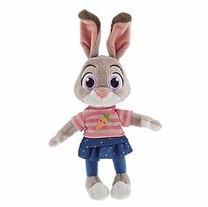 Disney(ディズニー) Judy Hopps Plush - Zootopia - Mini Bean Bag - 9\'\' ズートピア ジュディ・ホップスぬいぐるみ22.8cm [並行輸入品]