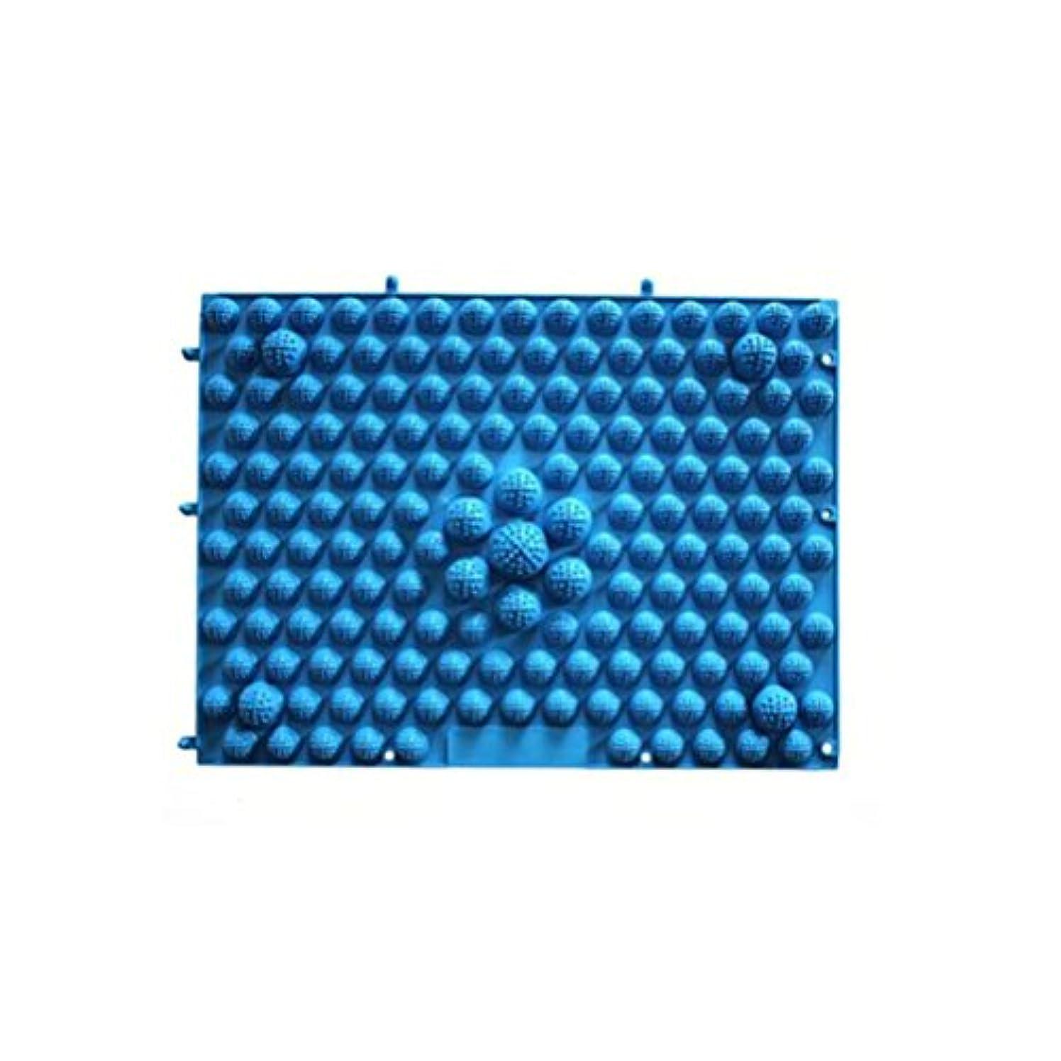 ROSENICE 足マッサージマット 血液循環指圧マットフィートヘルスケアマッサージプレート(ブルー)