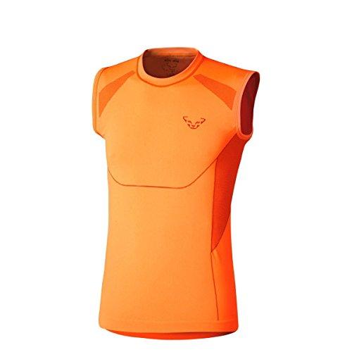 DYNAFIT ディナフィット ALPINE SEAMLESS TANK MEN メンズ ドライ ノースリーブシャツ トレイルランニング FluoOrange/(4571) M