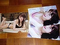 AKB48 木崎ゆりあ クリアファイル 2種3枚セット 漫画アクション ヤングチャンピオン 付録