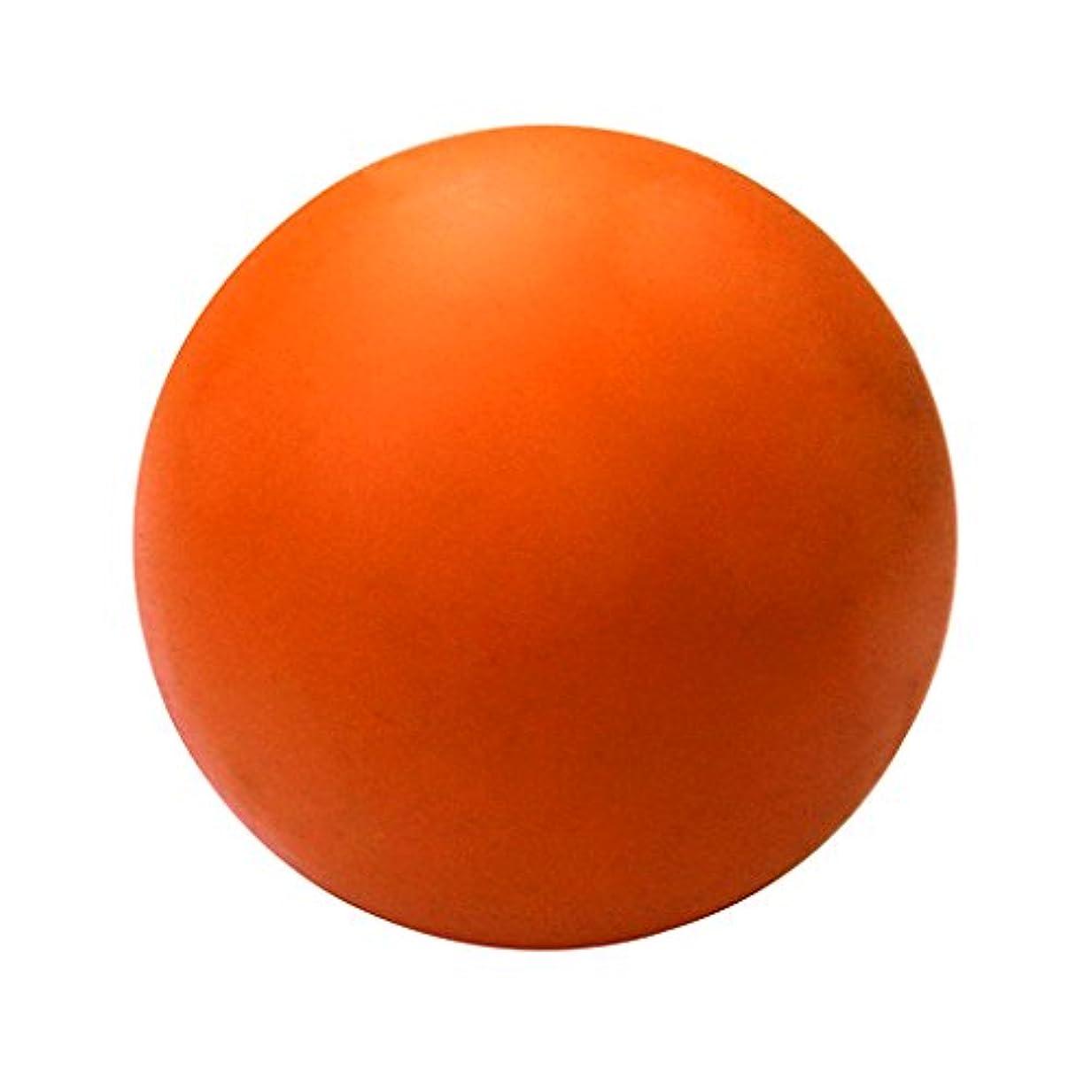 交通本土贈り物CUTICATE ラクロスマッサージボール ボディマッサージボール オレンジ 約 2.36インチ