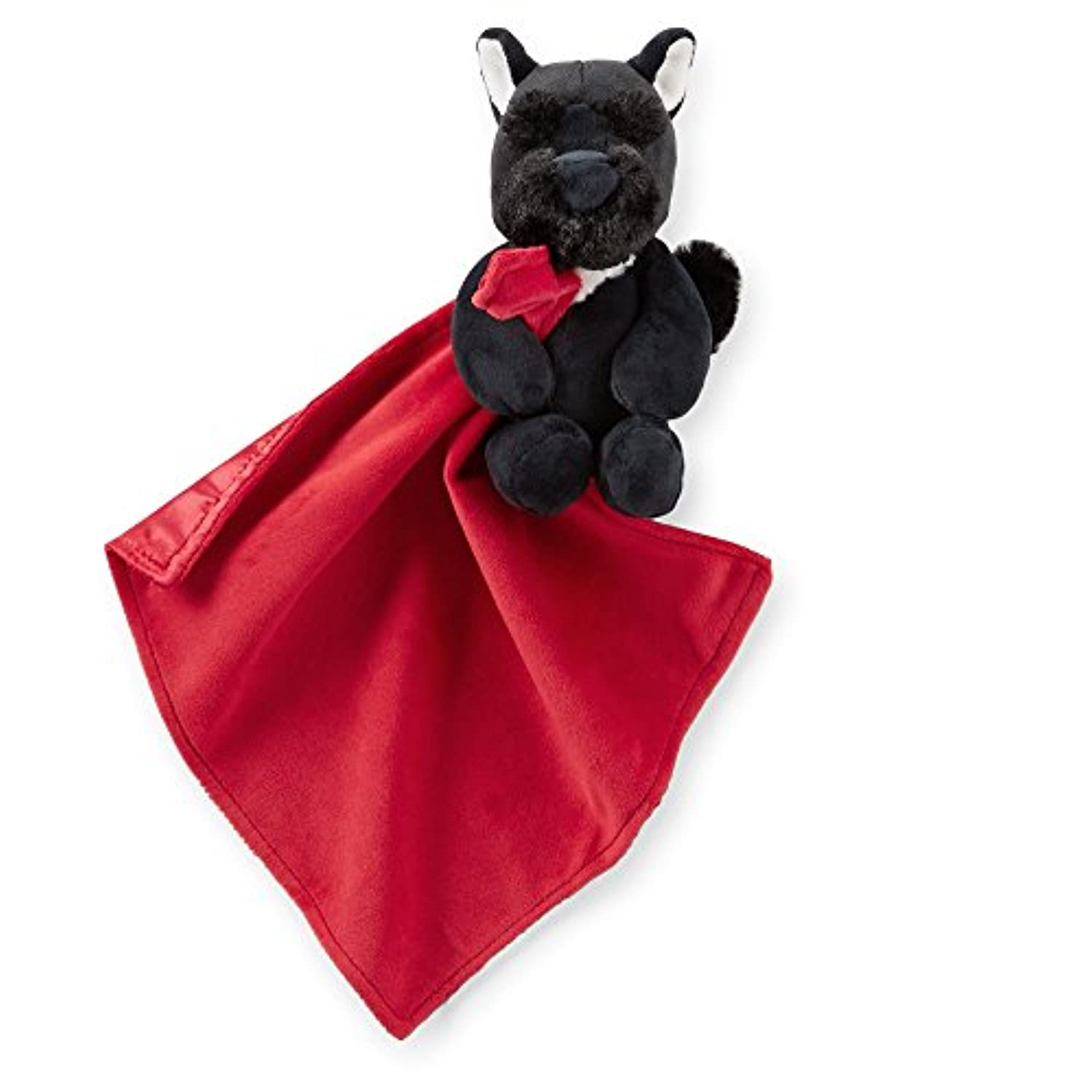 Carter's Red and Black Scottie Scotty Dog Snuggle Buddy Security Blanket by Carter's