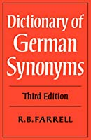 Dictionary of German Synonyms 3ed