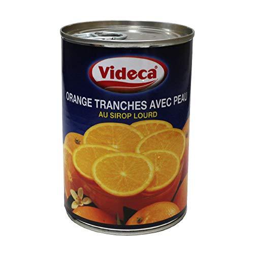 オレンジスライス 皮付 VIDECA 410g 缶詰 ビデカ