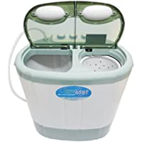 ALUMIS 2槽式小型自動洗濯機 【晴晴】 脱水機能搭載 AST-01
