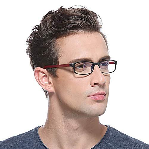 EFFOE ブルーライトカット メガネ PCメガネ パソコン用メガネ ブルーライト防止 男女兼用 超軽量 おしゃれ 度なしメガネ ブラウン