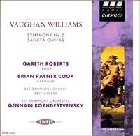 ヴォーン=ウィリアムズ:交響曲第5番、オラトリオ「聖なる市民」
