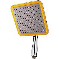 elfishjp シャワーヘッド セット オーバーヘッド シャワー 降雨シャワーヘッド ステンレス 正方形 高品質 高水圧 節水 洗浄便利