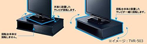 ハヤミ工産【TIMEZ】TVRシリーズ (15v~24v型対応) テレビ回転台 TVR-503