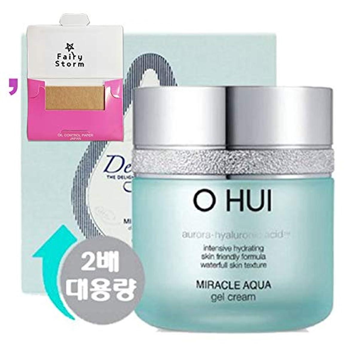 ポスト印象派ギャングスター再生的[オフィ/O HUI]韓国化粧品LG生活健康/Miracle Aqua Gel Cream Special Set/ミラクルアクアゲルクリーム100mlの大容量企画セット+[Sample Gift](海外直送品)