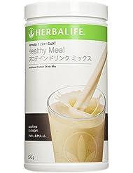 ハーバライフ HERBALIFE フォーミュラ1プロテインドリンクミックス- クッキー&クリーム味