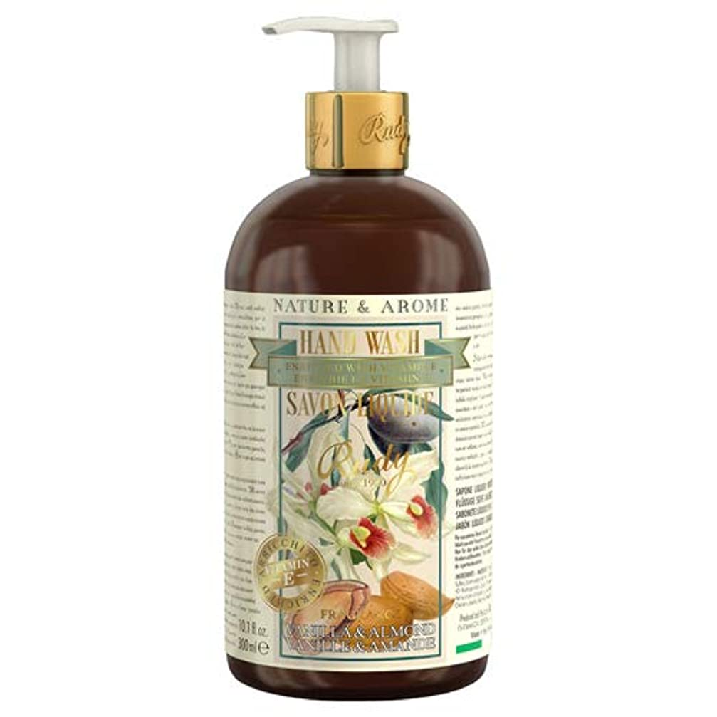 全員週間成熟RUDY Nature&Arome Apothecary ネイチャーアロマ アポセカリー Hand Wash ハンドウォッシュ(ボディソープ) Vanilla & Almond バニラ&アーモンド