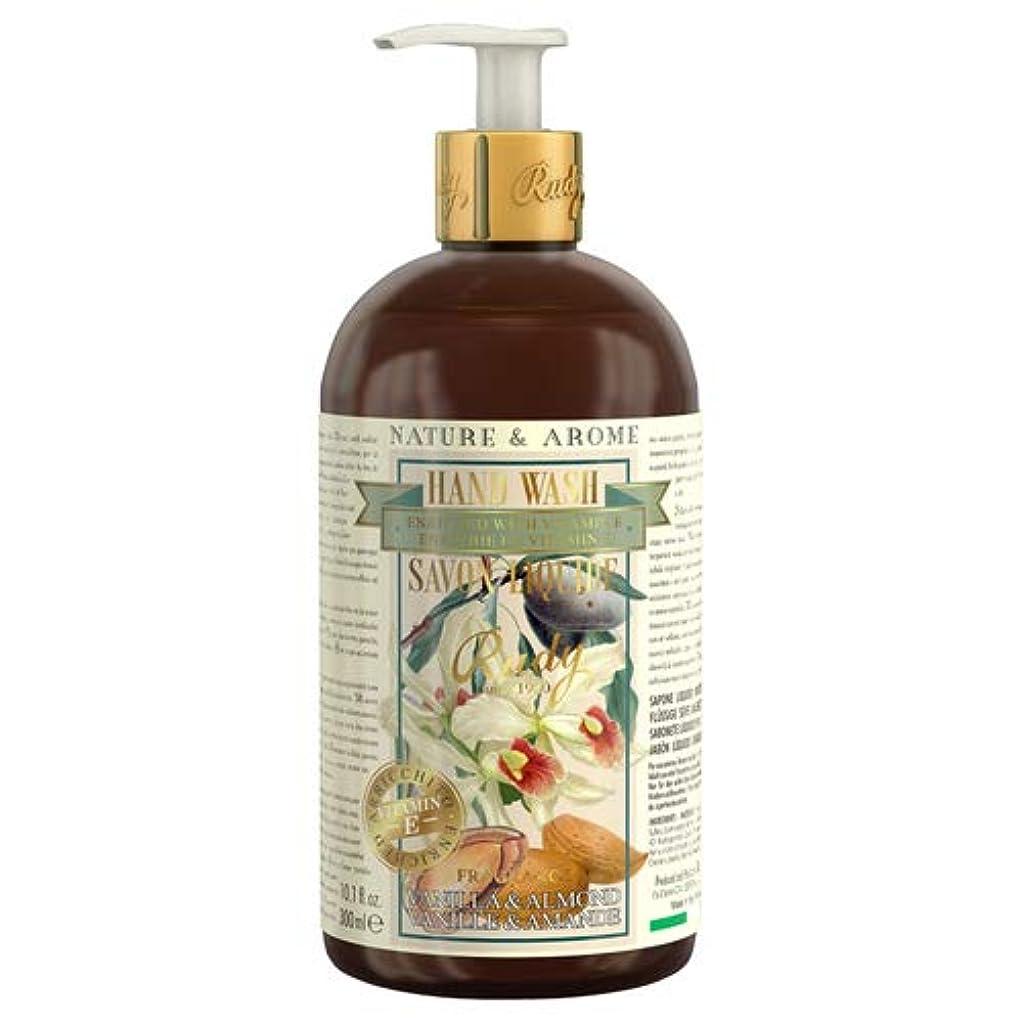 逆ガード手を差し伸べるRUDY Nature&Arome Apothecary ネイチャーアロマ アポセカリー Hand Wash ハンドウォッシュ(ボディソープ) Vanilla & Almond バニラ&アーモンド