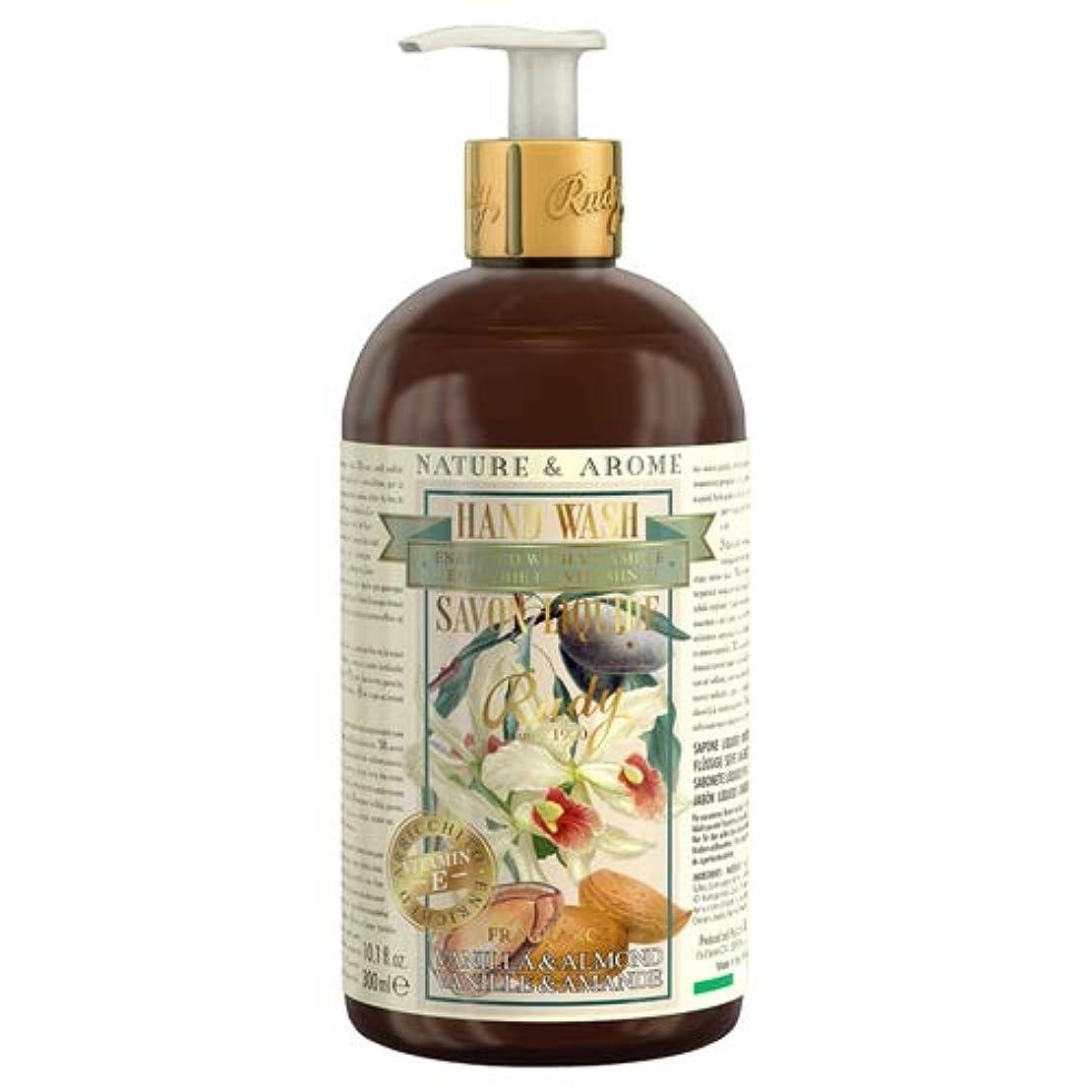 北方ジェスチャー無駄ルディ(Rudy) RUDY Nature&Arome Apothecary ネイチャーアロマ アポセカリー Hand Wash ハンドウォッシュ(ボディソープ) Vanilla & Almond バニラ&アーモンド