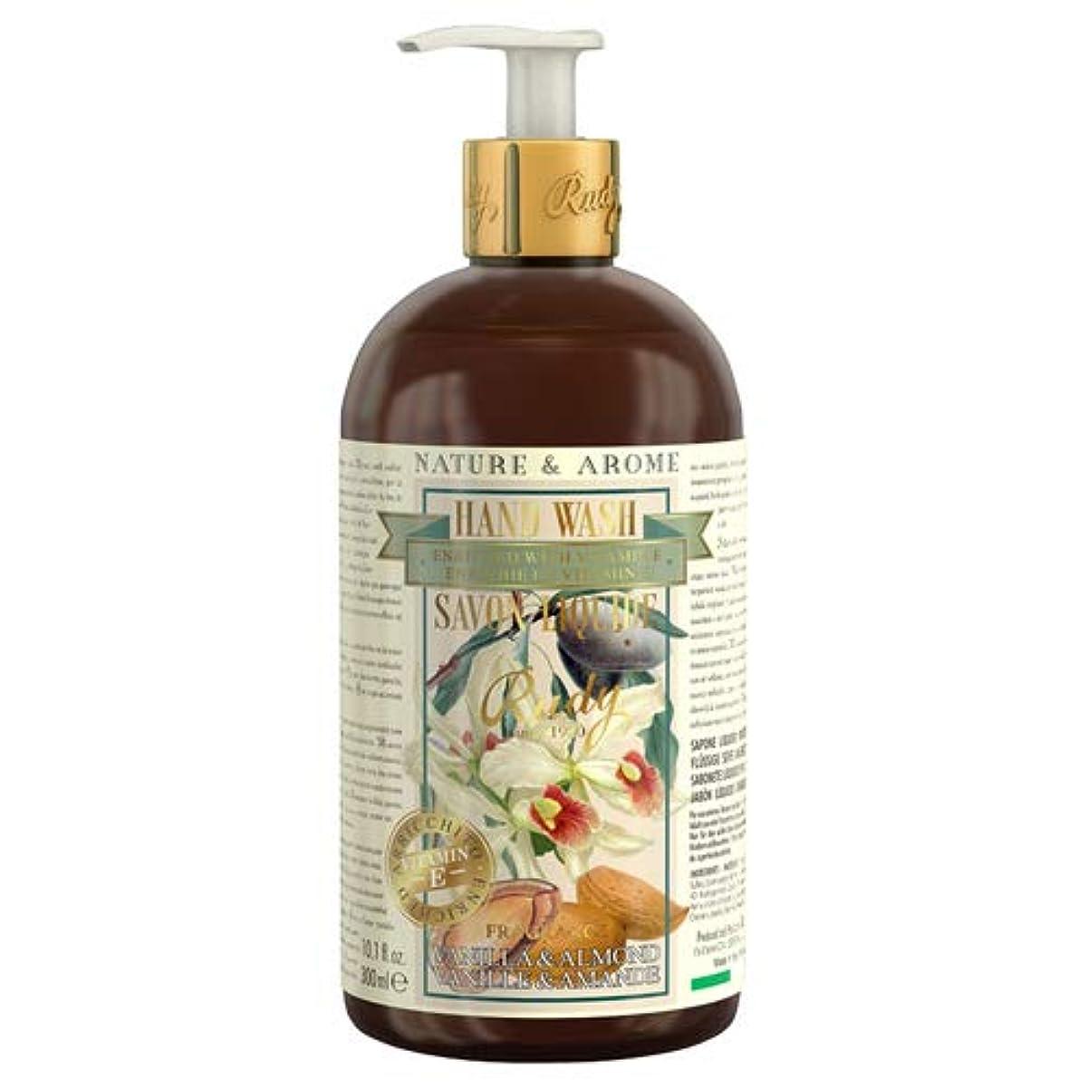 アナログ修士号供給RUDY Nature&Arome Apothecary ネイチャーアロマ アポセカリー Hand Wash ハンドウォッシュ(ボディソープ) Vanilla & Almond バニラ&アーモンド