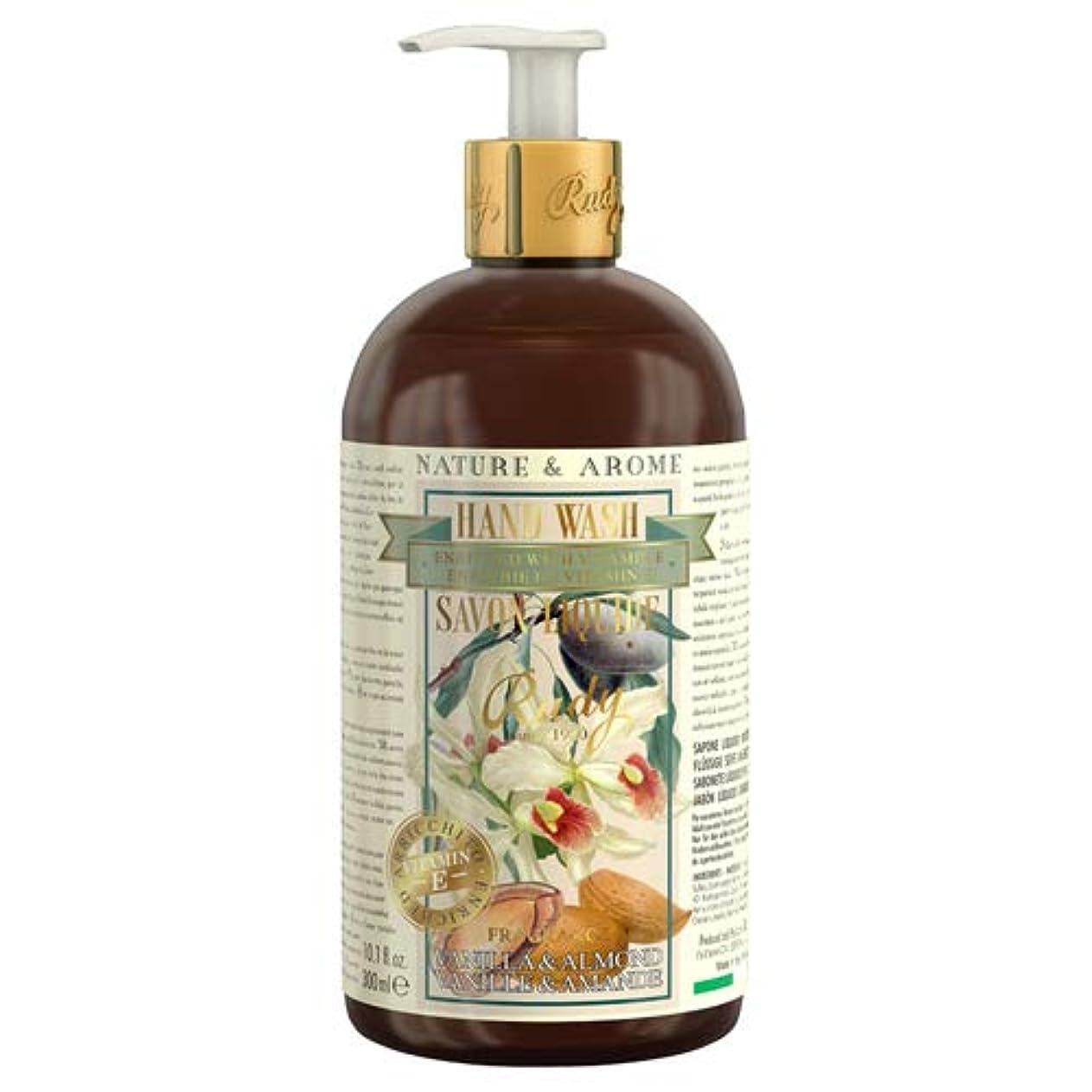 休戦シートテロRUDY Nature&Arome Apothecary ネイチャーアロマ アポセカリー Hand Wash ハンドウォッシュ(ボディソープ) Vanilla & Almond バニラ&アーモンド