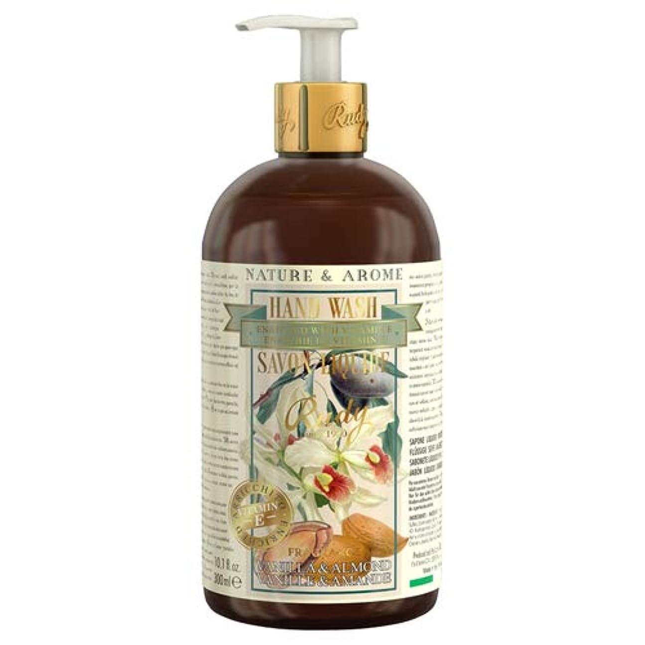 恥ずかしさ結婚トランザクションルディ(Rudy) RUDY Nature&Arome Apothecary ネイチャーアロマ アポセカリー Hand Wash ハンドウォッシュ(ボディソープ) Vanilla & Almond バニラ&アーモンド