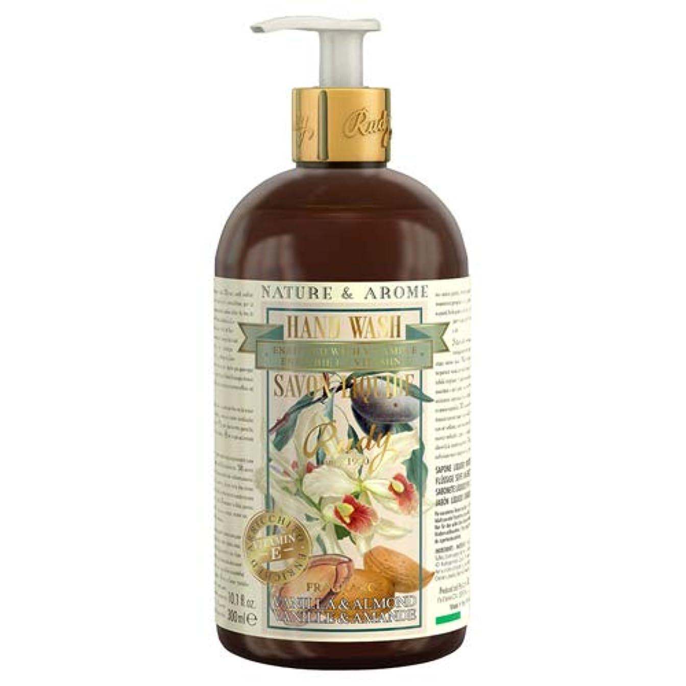 ポケット建設フィットルディ(Rudy) RUDY Nature&Arome Apothecary ネイチャーアロマ アポセカリー Hand Wash ハンドウォッシュ(ボディソープ) Vanilla & Almond バニラ&アーモンド