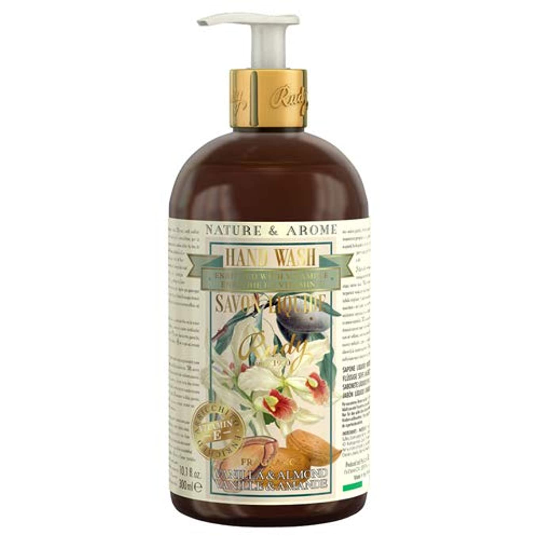 予言する行進チャンバーRUDY Nature&Arome Apothecary ネイチャーアロマ アポセカリー Hand Wash ハンドウォッシュ(ボディソープ) Vanilla & Almond バニラ&アーモンド