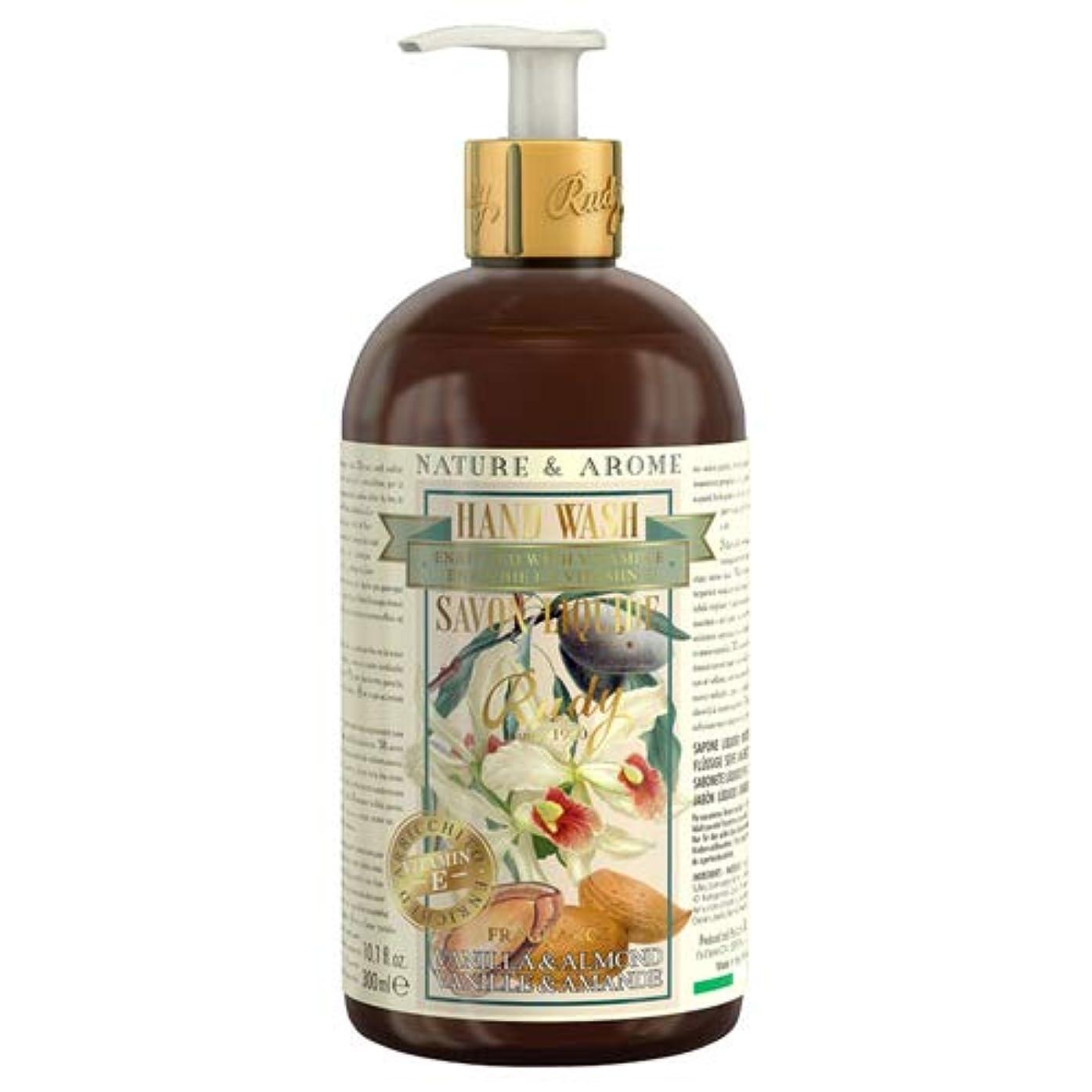 離れてチャンス助言RUDY Nature&Arome Apothecary ネイチャーアロマ アポセカリー Hand Wash ハンドウォッシュ(ボディソープ) Vanilla & Almond バニラ&アーモンド