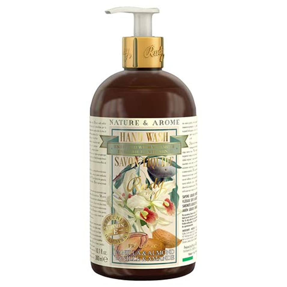 好きである副産物スラダムRUDY Nature&Arome Apothecary ネイチャーアロマ アポセカリー Hand Wash ハンドウォッシュ(ボディソープ) Vanilla & Almond バニラ&アーモンド