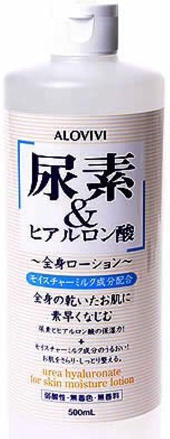 味わうハプニング艦隊アロヴィヴィ 尿素&ヒアルロン酸全身ローション 500ml
