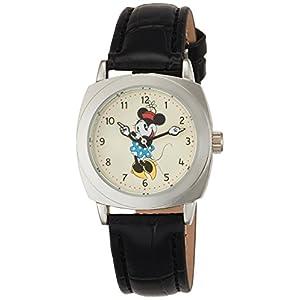 [ディズニー]Disney 腕時計 キャラクターウォッチ ミニー ブラック COD104 ガールズ