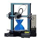 GEEETECH A10 3D プリンターアルミニウムPrusa I3 半完成DIYキット フィラメント検出および中断復帰機能 印刷サイズ220×220×260mm オー..