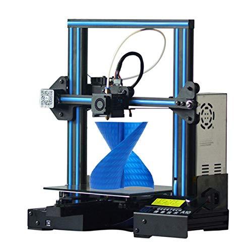 GEEETECH A10 3D プリンターアルミニウムPrusa I3 半完成DIYキット フィラメント検出および中断復帰機能 印...