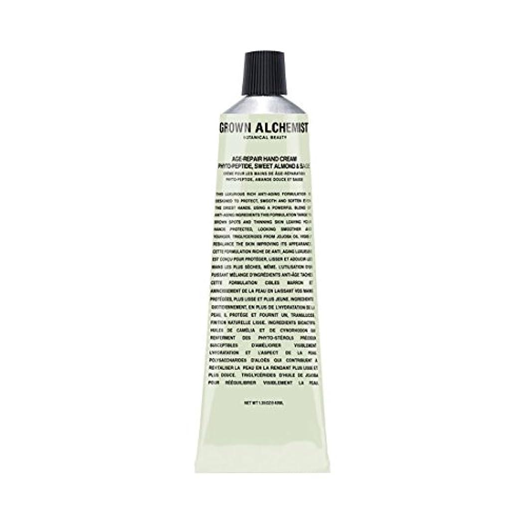 欠如無視できるデッドGrown Alchemist Age-Repair Hand Cream - Phyto-Peptide, Sweet Almond & Sage 40ml/1.35oz並行輸入品