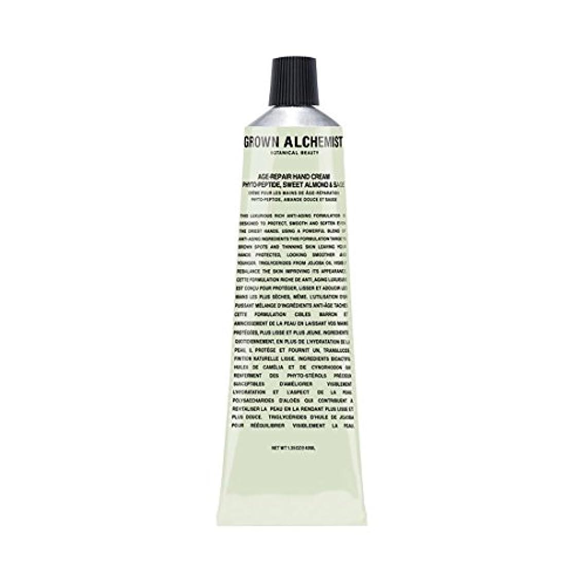 哲学者ぶどう提供されたGrown Alchemist Age-Repair Hand Cream - Phyto-Peptide, Sweet Almond & Sage 40ml/1.35oz並行輸入品