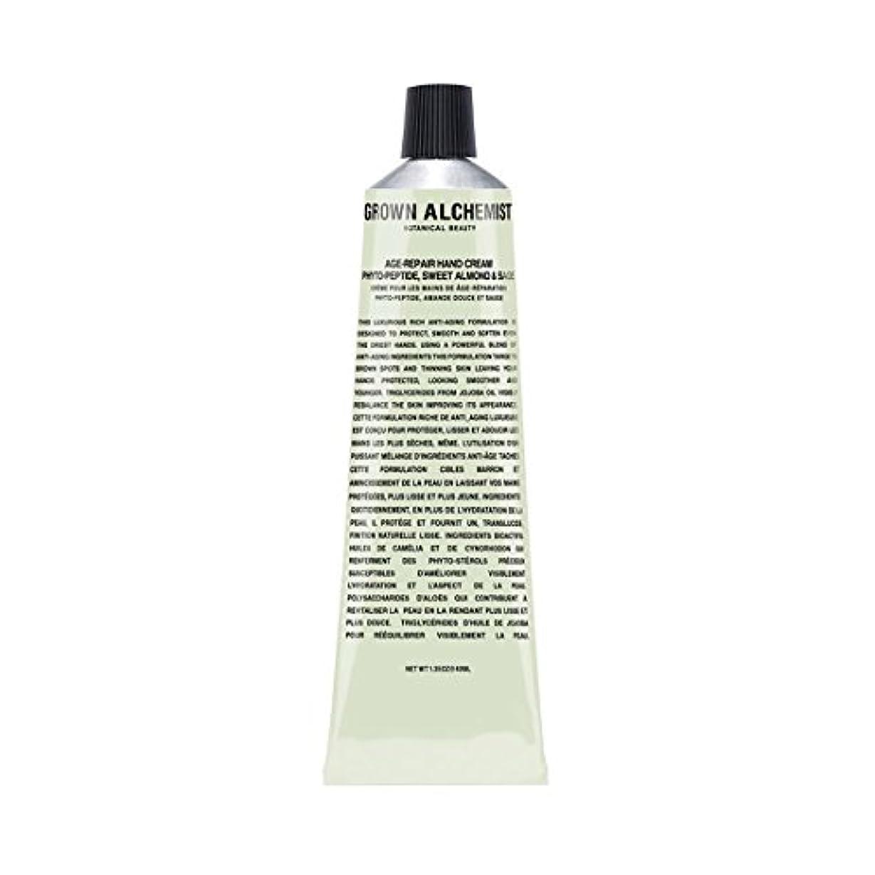 豚肉全能なにGrown Alchemist Age-Repair Hand Cream - Phyto-Peptide, Sweet Almond & Sage 40ml/1.35oz並行輸入品