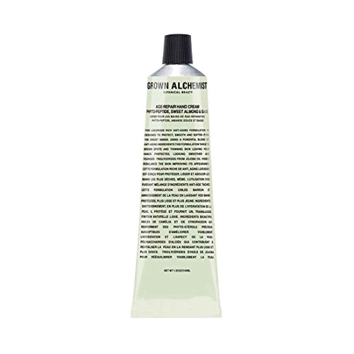 マネージャーおなじみのファーザーファージュGrown Alchemist Age-Repair Hand Cream - Phyto-Peptide, Sweet Almond & Sage 40ml/1.35oz並行輸入品