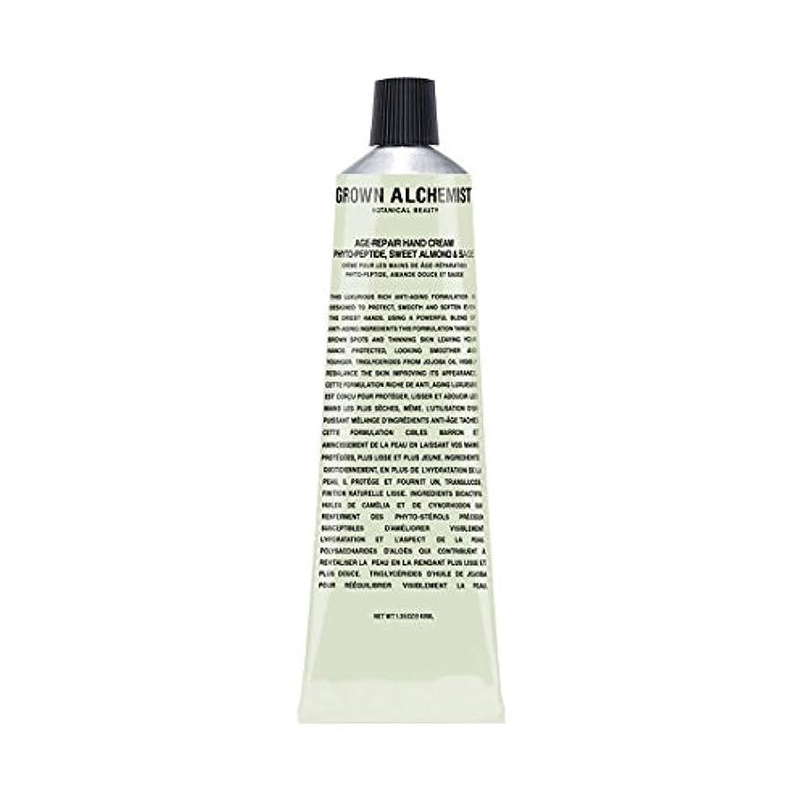 ハチ先住民コミットメントGrown Alchemist Age-Repair Hand Cream - Phyto-Peptide, Sweet Almond & Sage 40ml/1.35oz並行輸入品