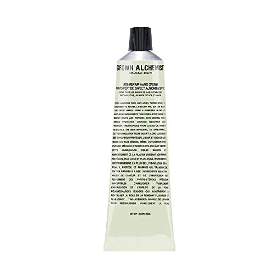 住む破壊する技術者Grown Alchemist Age-Repair Hand Cream - Phyto-Peptide, Sweet Almond & Sage 40ml/1.35oz並行輸入品