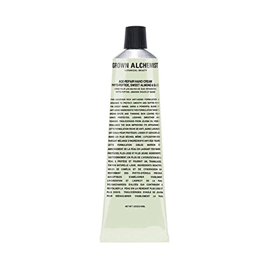 座標粘性の求めるGrown Alchemist Age-Repair Hand Cream - Phyto-Peptide, Sweet Almond & Sage 40ml/1.35oz並行輸入品
